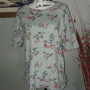 Loft Women's Short Sleeve Sweat Shirt